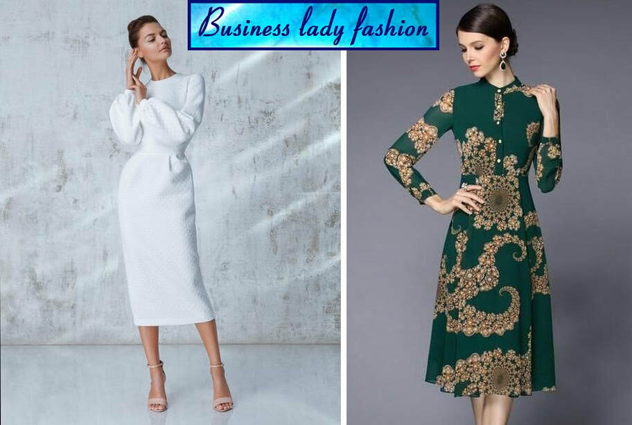 Elegantne Haljine Za Punije Osobe Business Lady Fashion